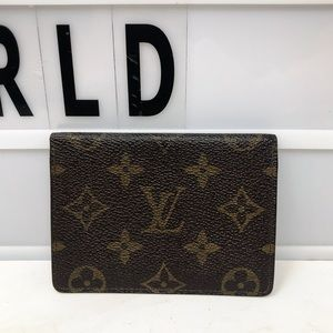 Louis Vuitton Porte Monogram ID pass card case